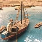 barco maqueta tarragona romana