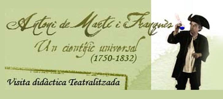 Antoni Martí i Franquès visita teatralitzada itinere tarragona