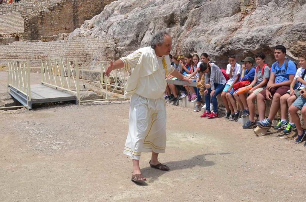Visita guiada teatralizada pon un romano en tu vida