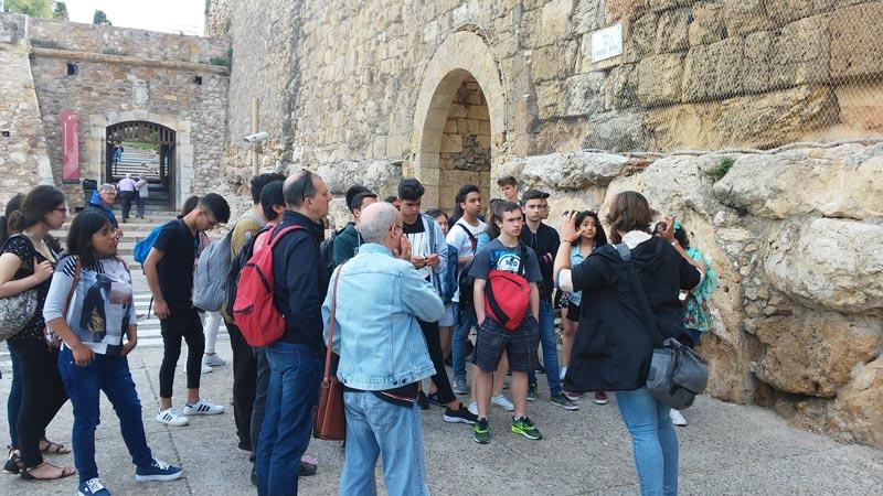 Itinere Didàctica visita guiada tarragona romana