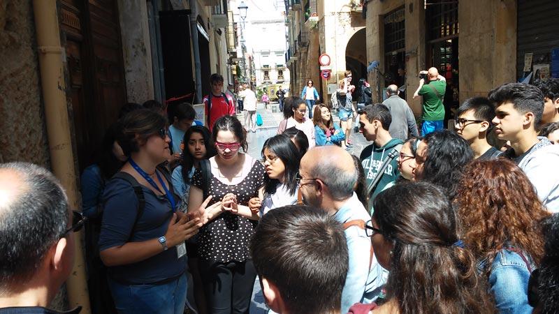 visita guiada instituto tarragona romana parte alta