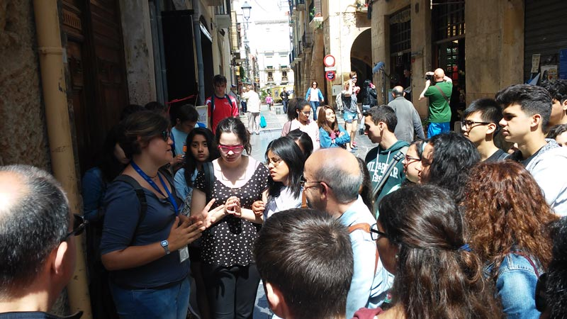 Itinere Didàctica visita guiada tarragona romana part alta escola escuela institut instituto