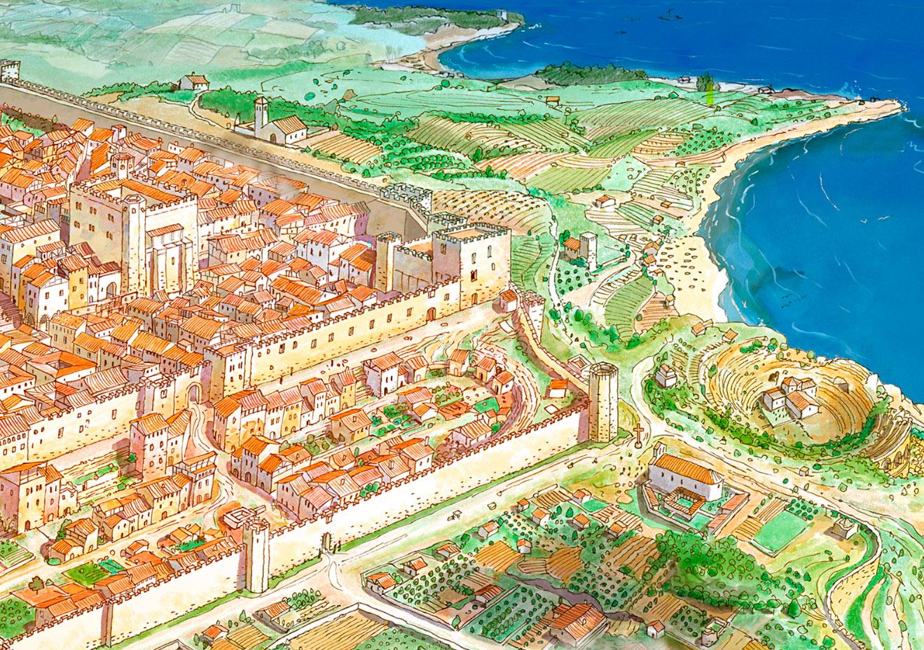 tall amfiteatre medieval
