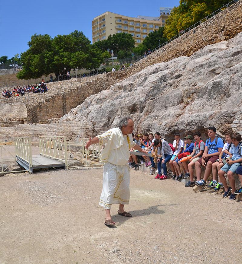 Visita guiada teatralitzada Tarraco