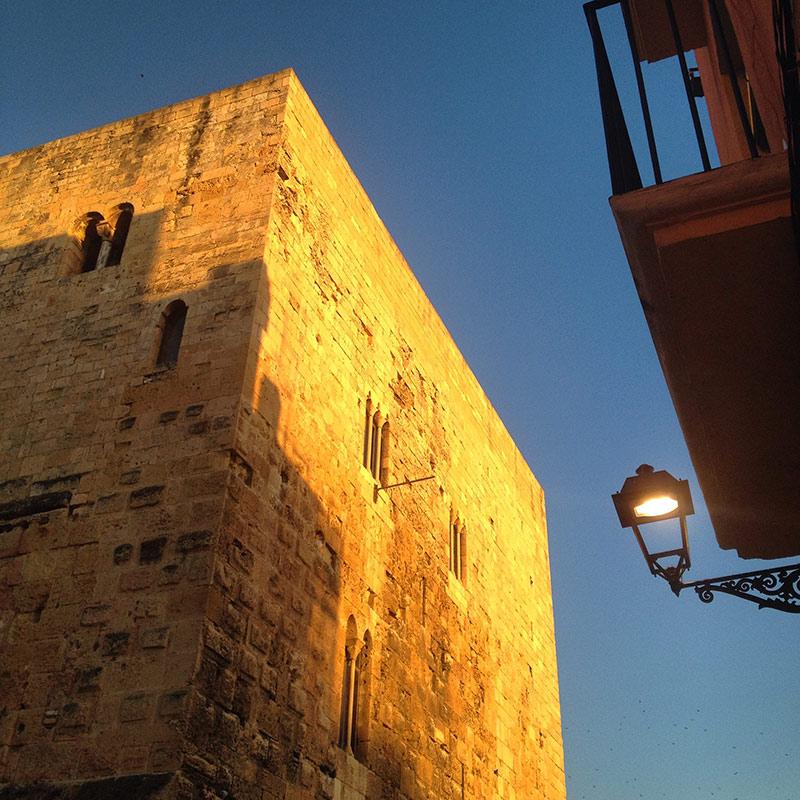 visita escolar Tarragona medieval castell del rei