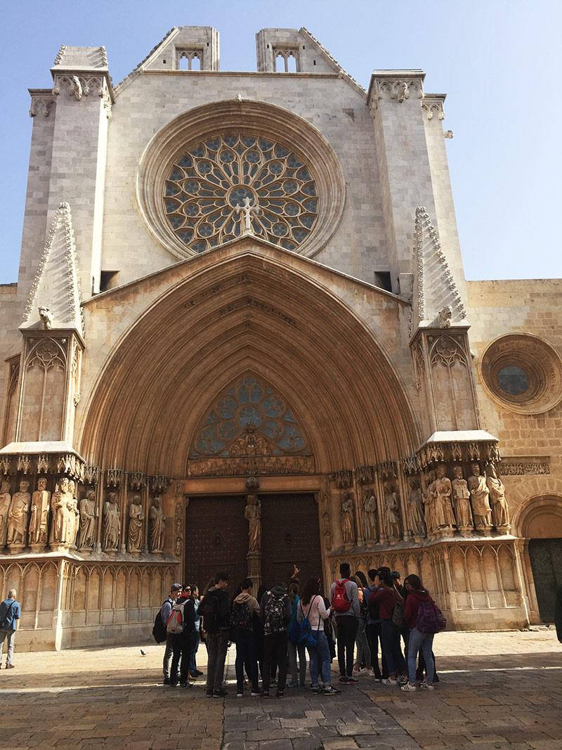 Visita guiada escolars catedral Tarragona