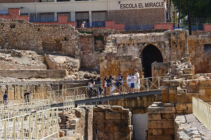 Visita guiada teatralizada al anfiteatro de tarragona