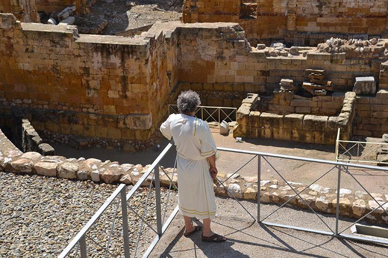 visita teatralitzada tarraco caius galenus amfiteatre