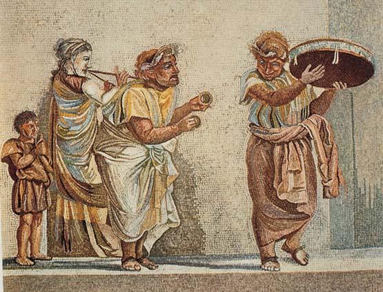 mosaico teatro romano