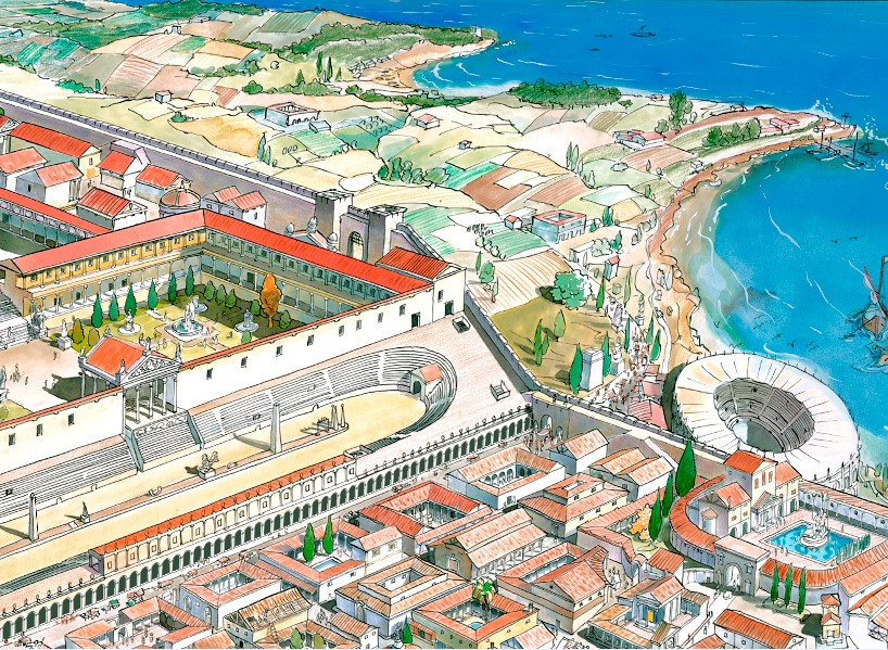 poster anfiteatro romano