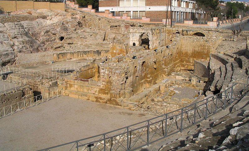 vistas anfiteatro romano