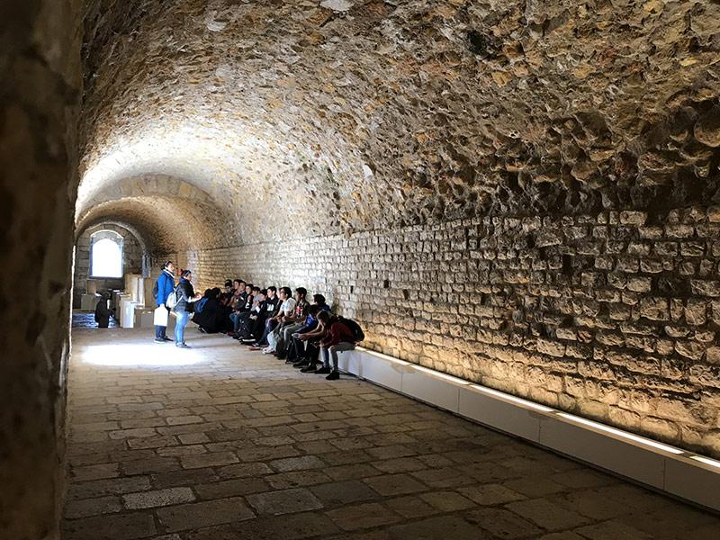 alumnos visita guiada tarragona romana