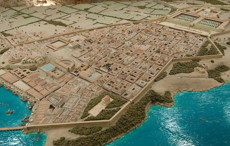 Maqueta tarraco romana