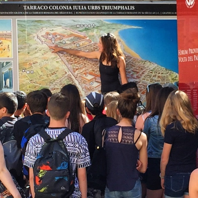 visita tarraco intercambio secundaria